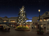 りんくうプレミアム・アウトレット Winter Illuminationの写真