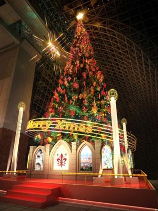 京都駅ビル クリスマスイルミネーション2016の写真1