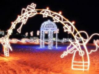 白良浜イルミネーションイベント「白砂のプロムナード」の写真2