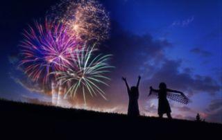 青年会議所がオリンピック開会式であった 7月24日に全国一斉打ち上げ花火を実施