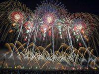 第91回全国花火競技大会「大曲の花火」の写真