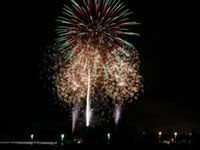 伊佐市夏まつり花火大会の写真