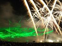 第48回吉野川祭り納涼花火大会の写真
