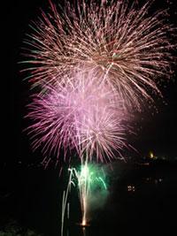 第48回恵那納涼水上花火大会の写真