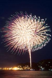 江ノ島納涼花火大会の写真