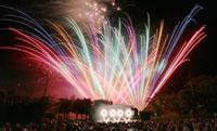 生駒山上遊園地 花火ショー「ファイアーリュージョン2019」