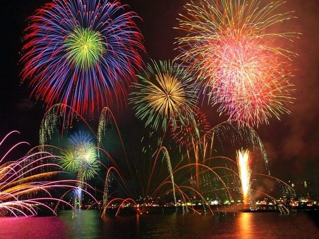 按針祭海の花火大会