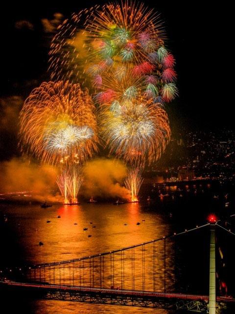 第32回関門海峡花火大会の日程・開催情報|花火大会2019
