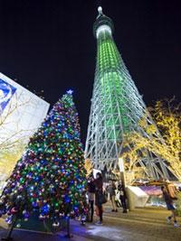 東京スカイツリータウン(R) ドリームクリスマス2016の写真
