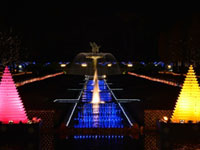 国営昭和記念公園 Winter Vista Illumination 2016の写真