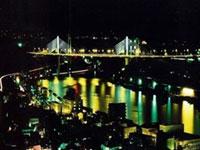 新尾道大橋橋梁照明の写真