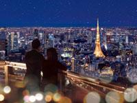 六本木ヒルズ展望台 東京シティビュー「天空のクリスマス 2018」@スカイデッキ