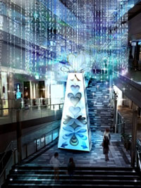 OMOTESANDO HILLS CHRISTMAS with Panasonic Beautyの写真