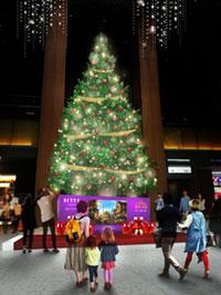 KITTE名古屋 星のクリスマス