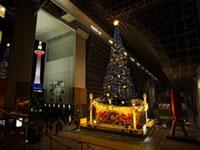 京都駅ビル クリスマスイルミネーション2018