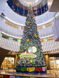 リバーウォーク北九州「サンタも踊る!?クリスマス」