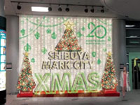 SHIBUYA MARK CITY BIG CHRISTMAS