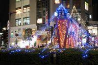 朝霞中央公園陸上競技場ウインターイルミネーション