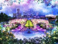 SNOW ROSE GARDEN YOKOHAMA Directed by NAKEDの写真
