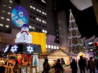 ドイツ・クリスマスマーケット大阪写真1