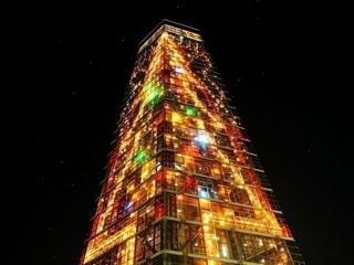 千葉ポートタワー クリスマスファンタジー写真1