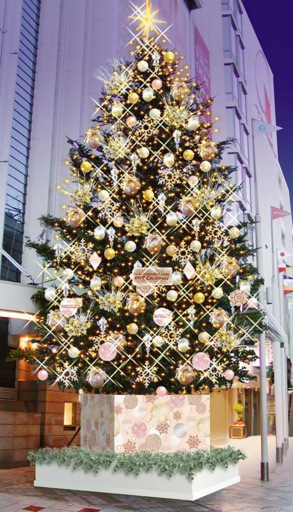 東急百貨店渋谷本店クリスマスツリー