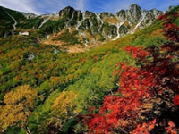 The Autumn Leaves of Senjojiki Cirque & Central Alps Komagatake Ropeway