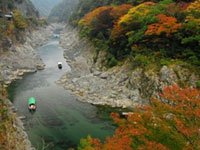 The Autumn Leaves of Oboke & Koboke Gorges