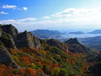 寒霞渓の紅葉
