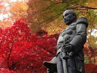 秩父御嶽神社 東郷公園の紅葉
