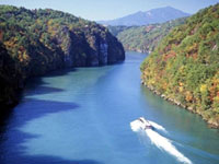 恵那峡の紅葉