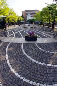 開港広場公園(横浜開港記念広場)の紅葉