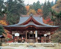 亀岡文殊堂の紅葉