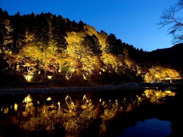 Top 10 địa điểm lá đỏ đẹp nhất aichi Bờ sông Korankei