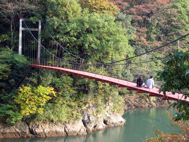 庄川峡(庄川峡湖上遊覧船)の紅葉|紅葉情報2020