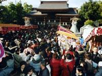 湊川神社(楠公さん)の初詣