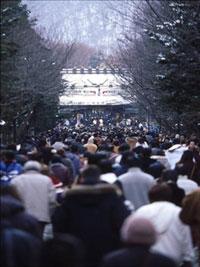 北海道神宮の初詣