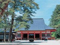 毛越寺の初詣