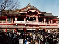 妙見本宮 千葉神社の初詣