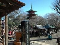 大本山中山法華経寺の初詣