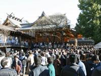 湯島天満宮(湯島天神)の初詣