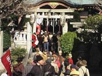 白鬚神社の初詣