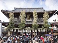 川崎大師 平間寺の初詣