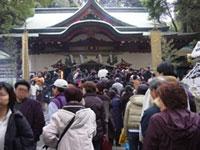 來宮神社の初詣