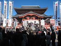 大須観音の初詣