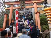 太郎坊宮の初詣