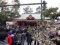 長田神社の初詣