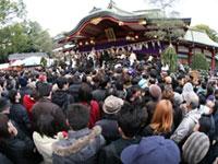 西宮神社の初詣