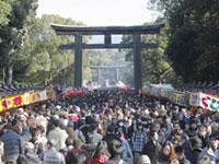 橿原神宮の初詣