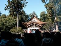 宇倍神社の初詣